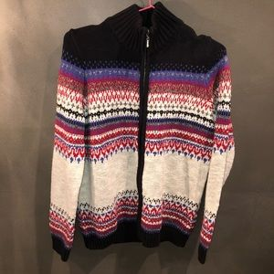 Northern Reflections Full-Zip Sweater